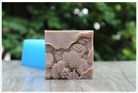 1pcs Seedpod of The Lotus (R1762) Silicone Handmade Soap Molds Crafts DIY Moulds