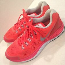 Nike   Lunar Glide lOrange Running Training Sneakers Women's US 6.5