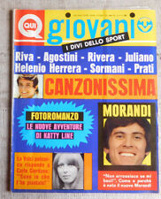 QUI GIOVANI n.42 1970 Led Zeppelin, POSTER Inter, Mungo Jerry, Jimi Hendrix,