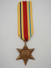Genuine WW2 Africa Star Medal - Full Size