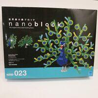 Nanoblock Animals Deluxe Edition DX Peacock NBM-023 Micro-sized Building Blocks