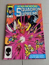 Squadron Supreme #1 September 1985 Marvel Comics