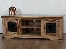 Jali Solid Rosewood Sheesham Plasma TV Bench Unit Stand Cabinet RRP £399!!