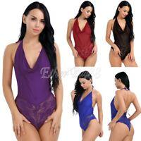 Nightwear Underwear Lingerie Women Sexy/Sissy Dress Lace Babydoll Bodystocking