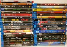 Marvel Dc Super-hero other Blu-Ray Lot of 37 Titles See Titles Below 3D New Used