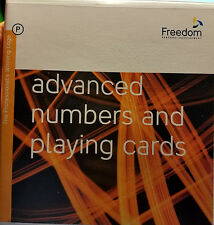 Advanced Numbers and Playing Cards Cd Set Freedom Personal Development