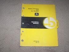 John Deere Used Battery Chargers & Arc Welders Tech Manual TM1173  B6