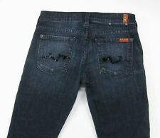 SEVEN 7  FOR ALL MANKIND  ROCKER   Slim Boot Cut  Dark Wash  jeans size 25 / 33