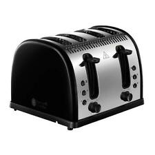 Russell Hobbs 21303 Wide Slots Removable Crumb Tray Stainless Steel Toaster