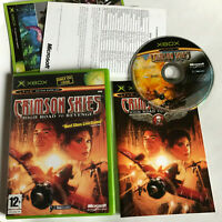 Crimson Skies: High Road To Revenge / Complete / Original Xbox / PAL