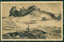 Trento San Martino di Castrozza Rosetta Cimon della Pala Foto cartolina VK1602