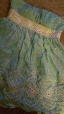 SPEECHLESS NWT Mint Green Embroidered Detail Girls Dress sz 11 $58