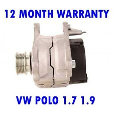 VW POLO 1.7 1.9 1996 1997 1998 1999 REMANUFACTURED ALTERNATOR