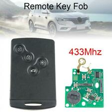 433Mhz Remote Key Fob PCF7952 Chip Fit for Renault Megane Scenic Laguna Koleos