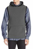 Kenneth Cole REACTION Men's Quilted Vest Men's XL sleeveless active hoodie