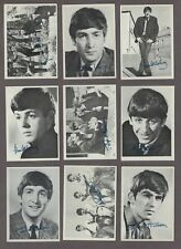 1964 O-Pee-Chee Beatles B&W Series Trading Cards Complete Set of 60
