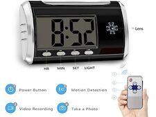Aisoul  Camera Alarm ClockHD 1080P , 8GB SD Card Included(BNIB) *