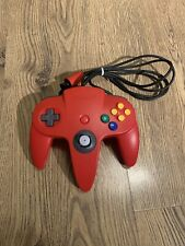 Official Red Nintendo 64 Controller - N64 Control Pad    Tested And Working
