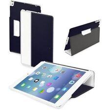 Muvit Fold Etui a clapet avec Support pour Apple iPad Air, Bleu/Blanc - NEUF
