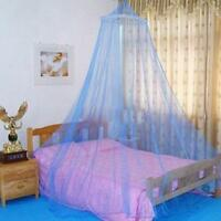 Girl Bed Mosquito Netting Mesh Canopy Princess Round Dome Bedding Mesh Net WE