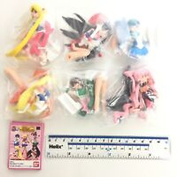 HGIF Gashapon Mini Figure Sailor Moon World Full Set of 6pcs Bandai Japan