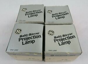GE EJL Multi-Mirror 200W 24V Projection Lamp Bulbs NOS LOT OF 4