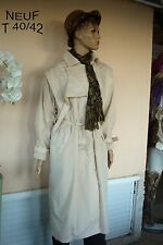 IMPERMÉABLE TRENCH BEIGE NEUF T L 40/42