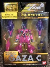 Bandai Zeta Gundam MSIA Purple Gaza C Action Figure with weapon Lot