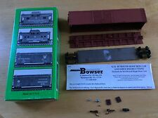 New Bowser 55400 50' Double Door HO Train Box Car X-32 Kit