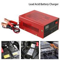 12V/24V 10A LED Intelligent Chargeur de Batterie pour Voiture Auto Moto EU Plug