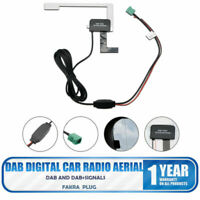 New DAB Digital Car Radio Aerial Antenna Glass Mount For Pioneer fakra Adapter