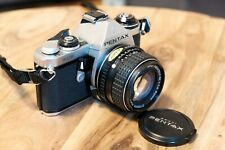 PENTAX ME 35mm Spiegelreflexkamera mit Standard-Objektiv SMC-M 50mm f1.4