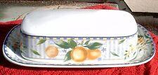 Mikasa - Lemon Medley (Qty 1) butter dish #CAC99 / Mint- condition