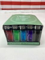 50 Count Lighters brand new Clearlite assorted colors