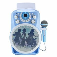 Frozen 2 Bluetooth CDG Karaoke Machine with LED Disco Party Lights, Built in...