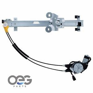 New Window Regulator With Motor Front Left Drivers For Chrysler Dodge Plymouth