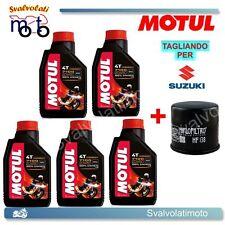 TAGLIANDO FILTRO OLIO + 5LT MOTUL 7100 20W50 SUZUKI VS INTRUDER 1400 2002