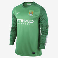 Genuine Nike Men's Manchester City Home Goalkeeper Shirt 2013-14, Size: XL, XXL