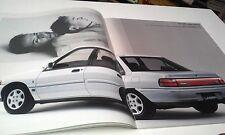 1992  FORD LASER SEDAN Japanese Sales Brochure - KF Laser in Australia