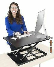 Sit/Stand Desk Converter Adjustable Height The Pro by X-Elite (28in x 20in)