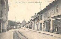 PONT DE VEYLE - grande rue et Pont Levis