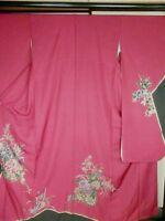 Japan Kimono Great Furisode Wedding,  Art (154)