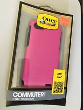 OtterBox Commuter Series Case for HTC One V Retail Packaging Hot Pink/Black