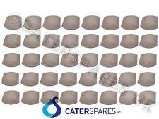 40 PEZZI scatola di ceramica commerciale briquetts PIASTRELLE MATTONI PER GAS Chargrill