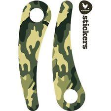 Wishbone-Stickers Moto Pour recyclé Edition-Camouflage imprimé vert