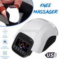 Knee Massager Infrared Heat Vibration Airbag Massage Rehabilitation Pain