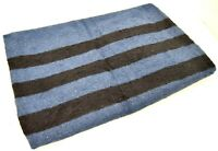 Russian Army Navy Blanket Large Military Bedding Thick Warm Bivouac Camping Blue