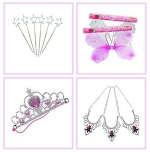 Fairy Wings / Princess Crown / Angel Wand / Necklace ~ Girls Party Bag Fillers