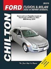 Ford Fusion & Mercury Milan Chilton Repair Manual (2006-2014)