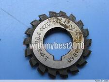 M0.6 20 degree #8 Cutting Range 135 Teeth or More HSS Involute Gear Cutter